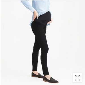 J.Crew Factory Black Maternity Denim
